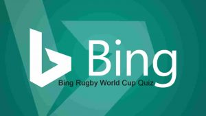 Bing Rugby World Cup Quiz - Quiz and History in the Making