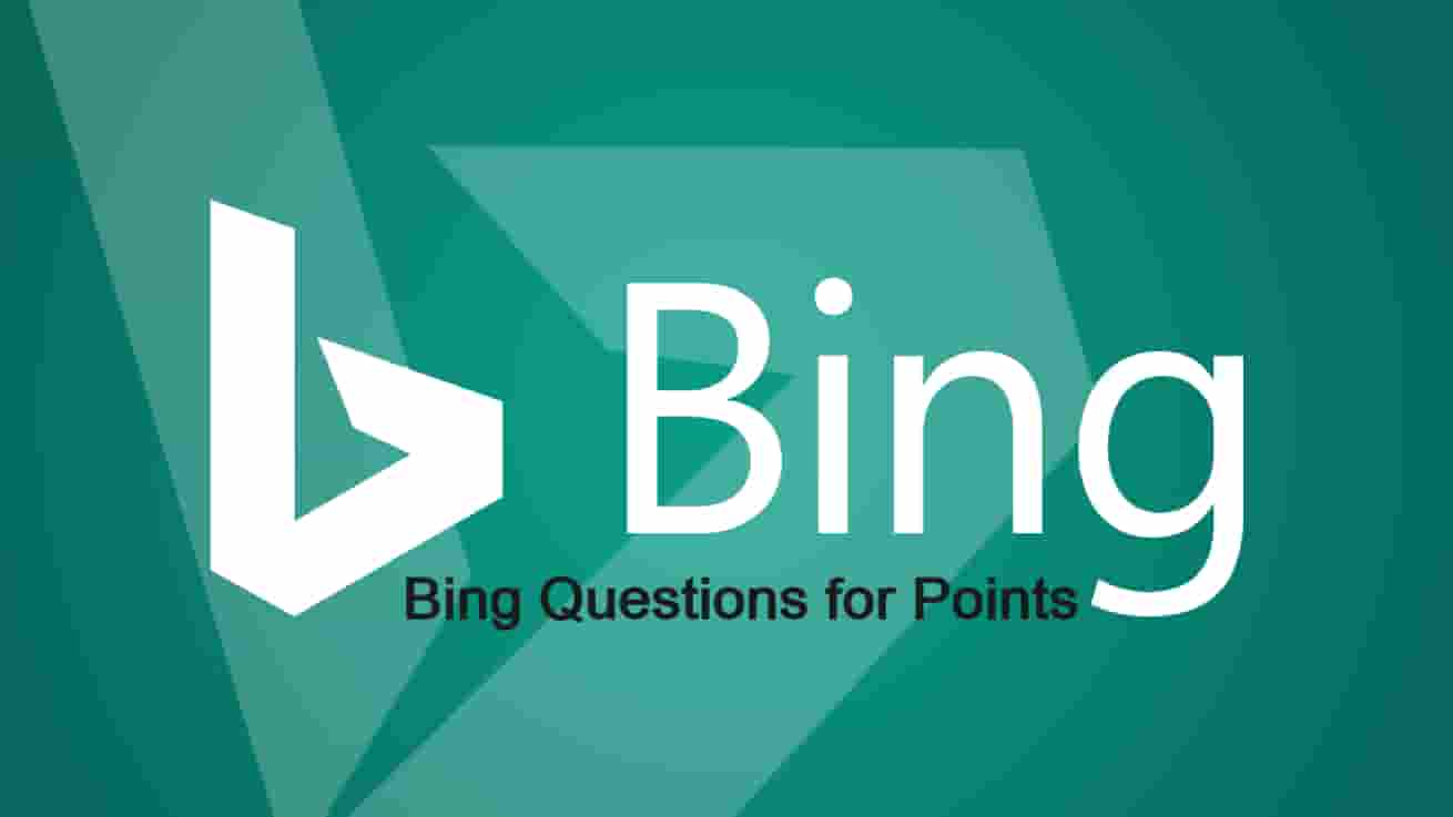 Bing Questions for Points